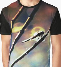 Good Night Dragonfly Graphic T-Shirt