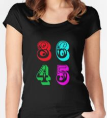86 45 - Impeach Trump Women's Fitted Scoop T-Shirt