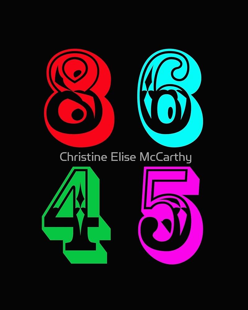 86 45 - Impeach Trump by Christine Elise McCarthy