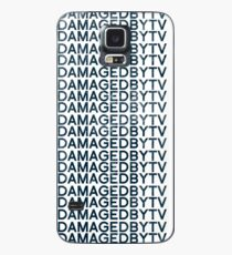 #Emotionally Damaged By TV on Repeat Case/Skin for Samsung Galaxy