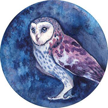 Owl Cirque by LauraGarabedian