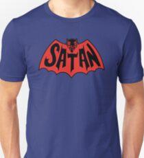 Satan Bat Man Vintage Style Logo Unisex T-Shirt