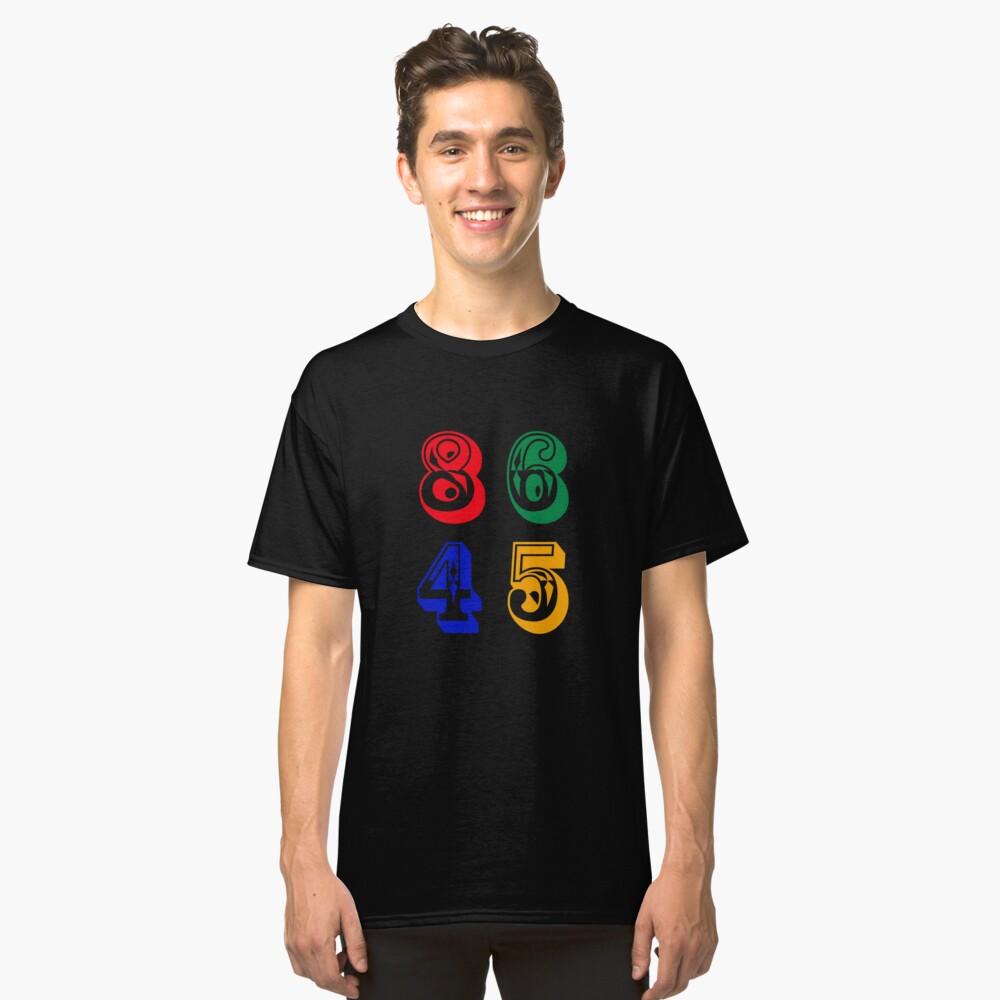 86 45 - IMPEACH TRUMP Classic T-Shirt Front
