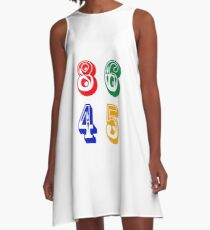 86 45 - IMPEACH TRUMP A-Line Dress