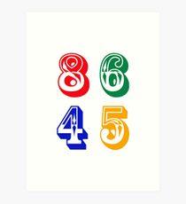 86 45 - IMPEACH TRUMP Art Print