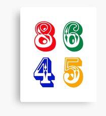86 45 - IMPEACH TRUMP Canvas Print