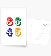 86 45 - IMPEACH TRUMP Postcards