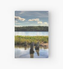 Along the Boardwalk Hardcover Journal