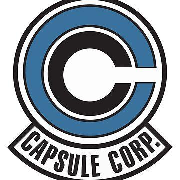 Capsule Corporation Dragon Ball by SenxCreations