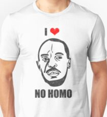 I *HEART* OMAR - 'NO HOMO' T-Shirt