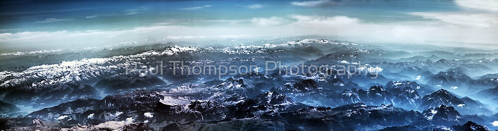 Alps Panoramic by Paul Thompson Photography
