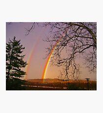 *DOUBLE RAINBOW* Photographic Print
