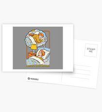 Erreiche deine Träume Postkarten