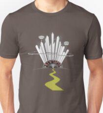 Newtopia - retro future Unisex T-Shirt