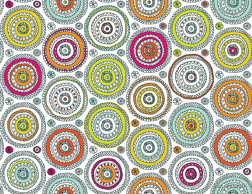Circles Pen Pattern by Lee Meredith
