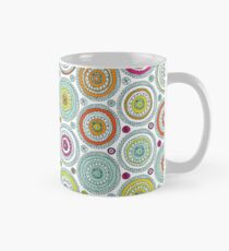 Circles Pen Pattern Mug