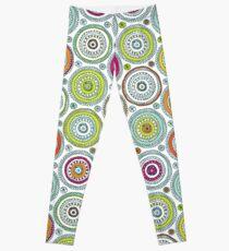 Circles Pen Pattern Leggings