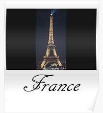 france : Eiffel tower Poster