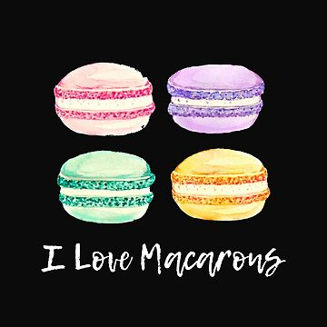 Four Macarons by stuch75