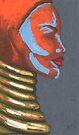 Tribal Silhouette by Alga Washington