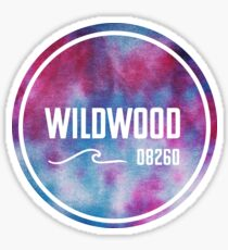 Wildwood - Tie Dye  Sticker
