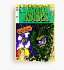 Scary Noises! Cover Canvas Print