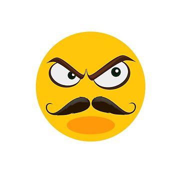 Angry emoji by Designhorn
