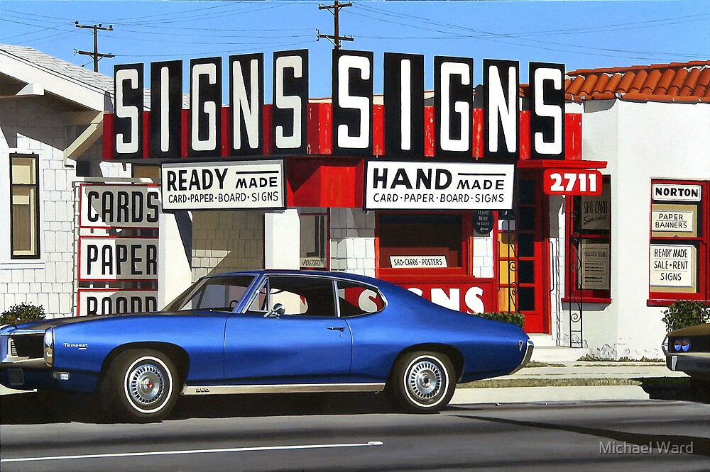 Signs by Michael Ward