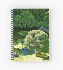 SF Japanese Tea Garden Study 9  Spiral Notebook