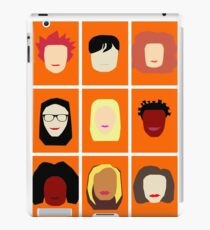 Orange is the New Black Inspired Minimalist Design iPad Case/Skin