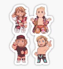 chibi champions sticker sheet Sticker