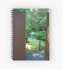 SF Japanese Tea Garden Study 10  Spiral Notebook