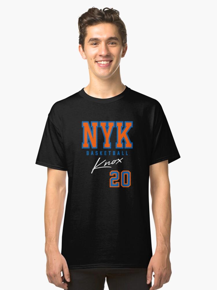 Knox, NY Basketball Classic T-Shirt Front
