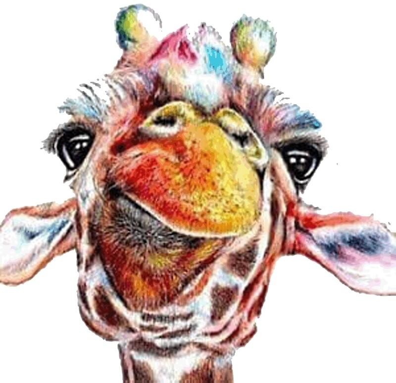 Открытка годика, рисунки животных акварелью прикольные