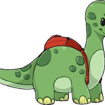 School Dino by CaylinsDesigns