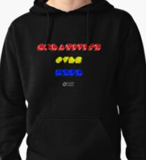 Creativity Over Hype (80s Version) Pullover Hoodie