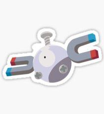 Magnemite Pokemon Simple No Borders Sticker