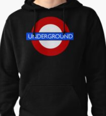 London Underground Logo Vector for Dark t-shirts Pullover Hoodie