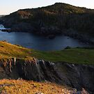 Camping out on Flamber Head by Brian Carey
