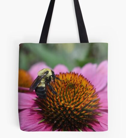 Bumblebee In Search Of Pollen Tote Bag