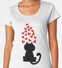 Meow Women's Premium T-Shirt