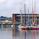 River Foyle - boats by Agnes McGuinness