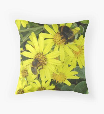 honey & bumble Throw Pillow