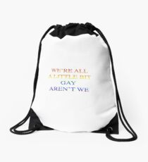 wise words from harry Drawstring Bag