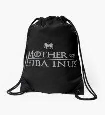 Mutter von Shiba Inus Turnbeutel