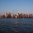 WTC Shadows by Peter Bellamy