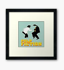 "The famous dance from the Film ""Pulp Fiction"" Framed Print"