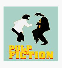 "The famous dance from the Film ""Pulp Fiction"" Photographic Print"