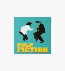 "The famous dance from the Film ""Pulp Fiction"" Art Board"