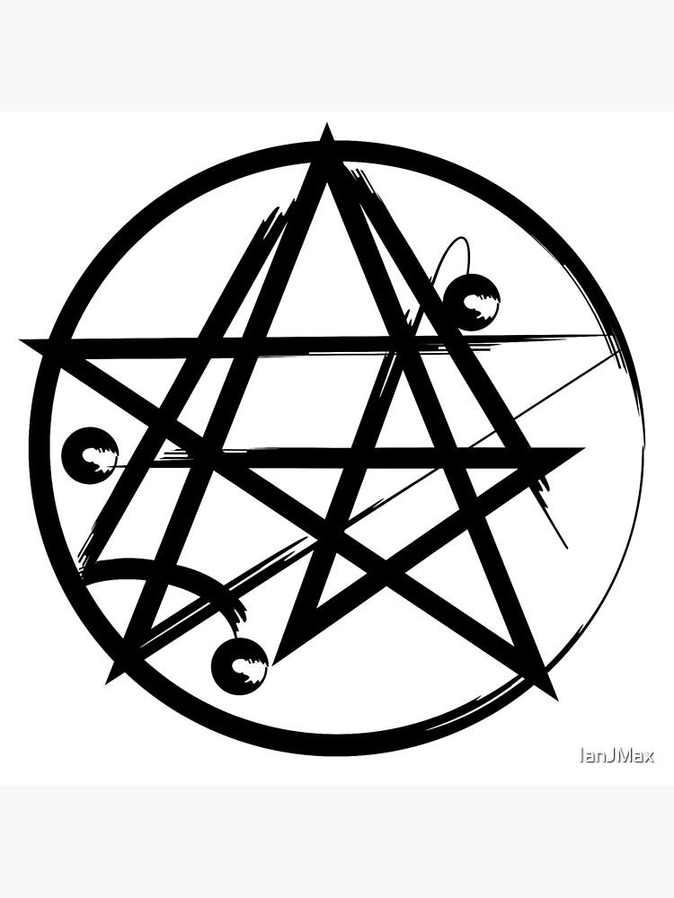 Hp Lovecraft Cultic Cthulu Symbol by IanJMax
